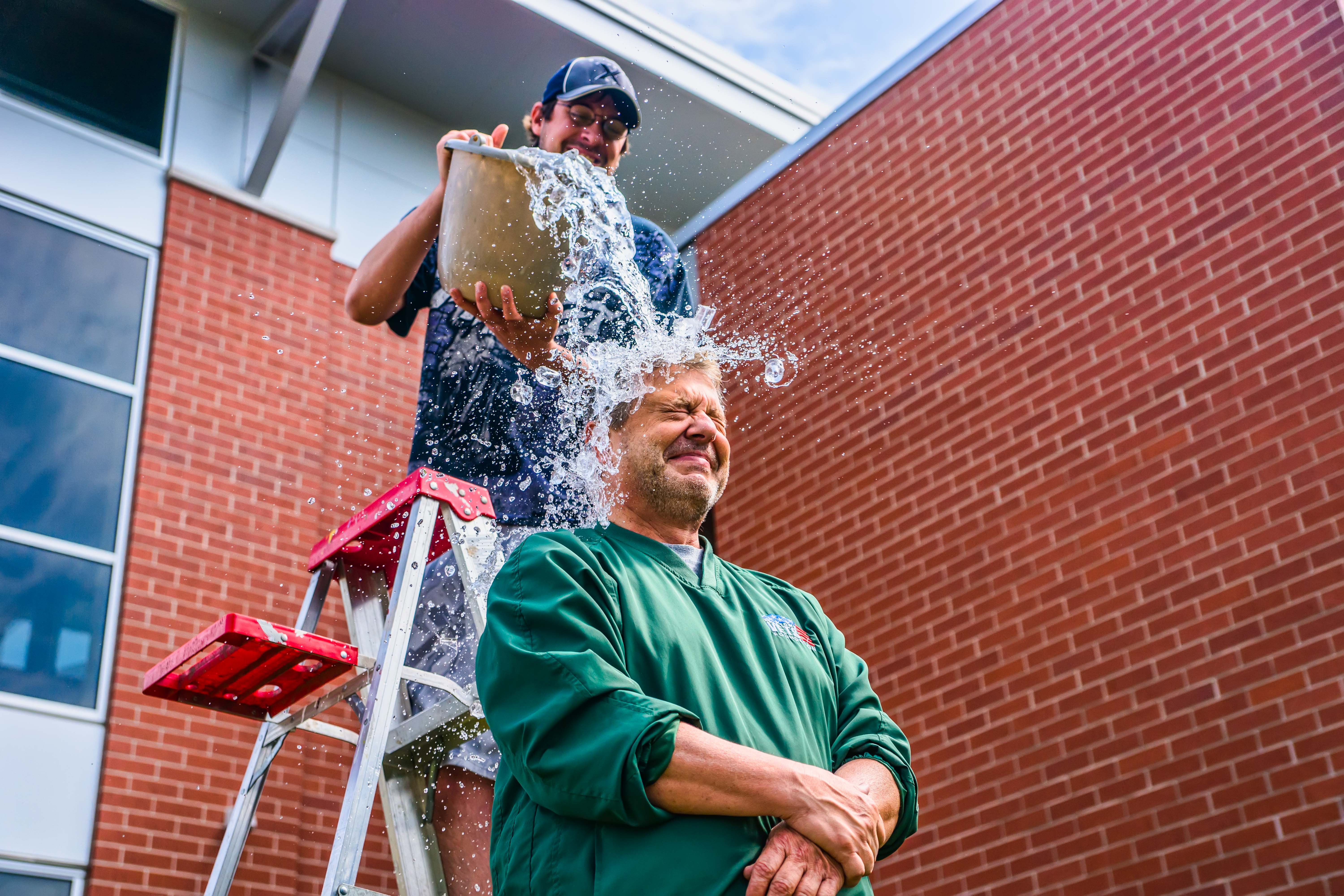 an analysis of the success of the als ice bucket challenge Als ice bucket challenge blows up someone is clearly putting their money where their ice bucket is the als association is extremely grateful for.