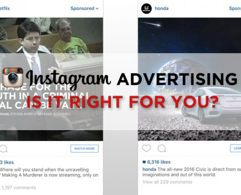 Advertising on Instagram Blog