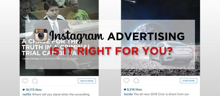 Advertising on Instagram Blog
